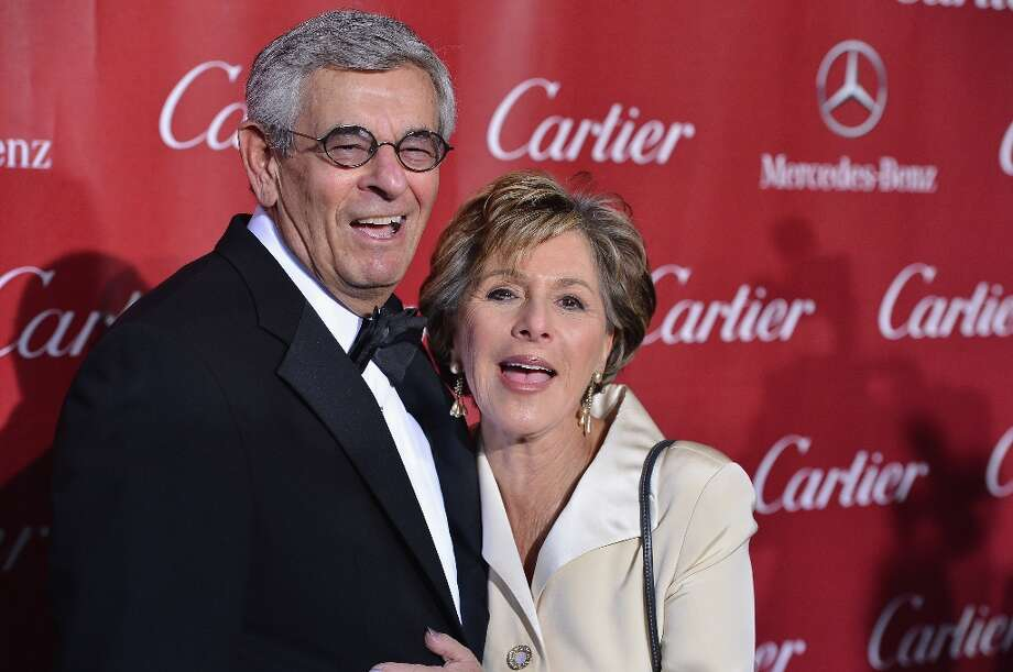 Stewart Boxer and Senator Barbara Boxer arrives at The 24th Annual Palm Springs International Film Festival Awards Gala on January 5, 2013 in Palm Springs, California. Photo: Frazer Harrison, Getty Images / 2013 Getty Images