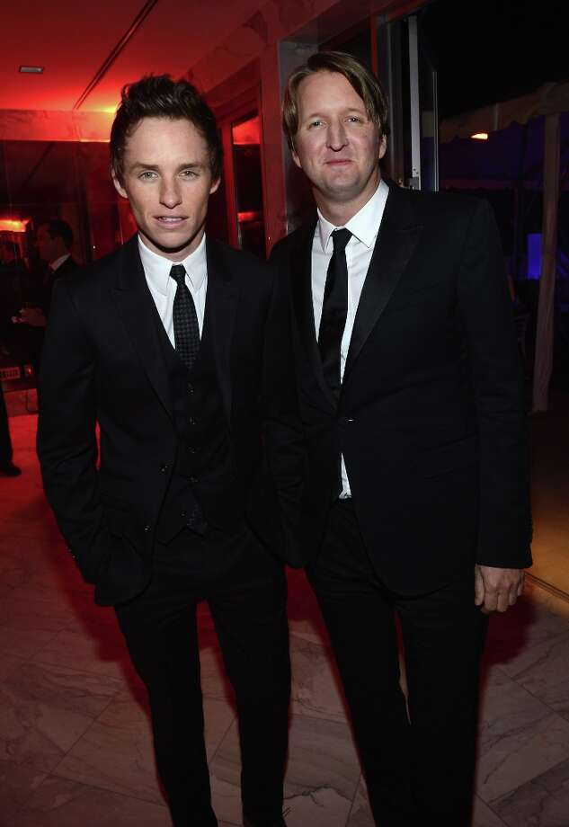 Actor Eddie Redmayne and director Tom Hooper at the 24th Annual Palm Springs International Film Festival Awards Gala After Party At Parker Palm Springs on January 5, 2013 in Palm Springs, California. Photo: Michael Buckner / 2013 Getty Images