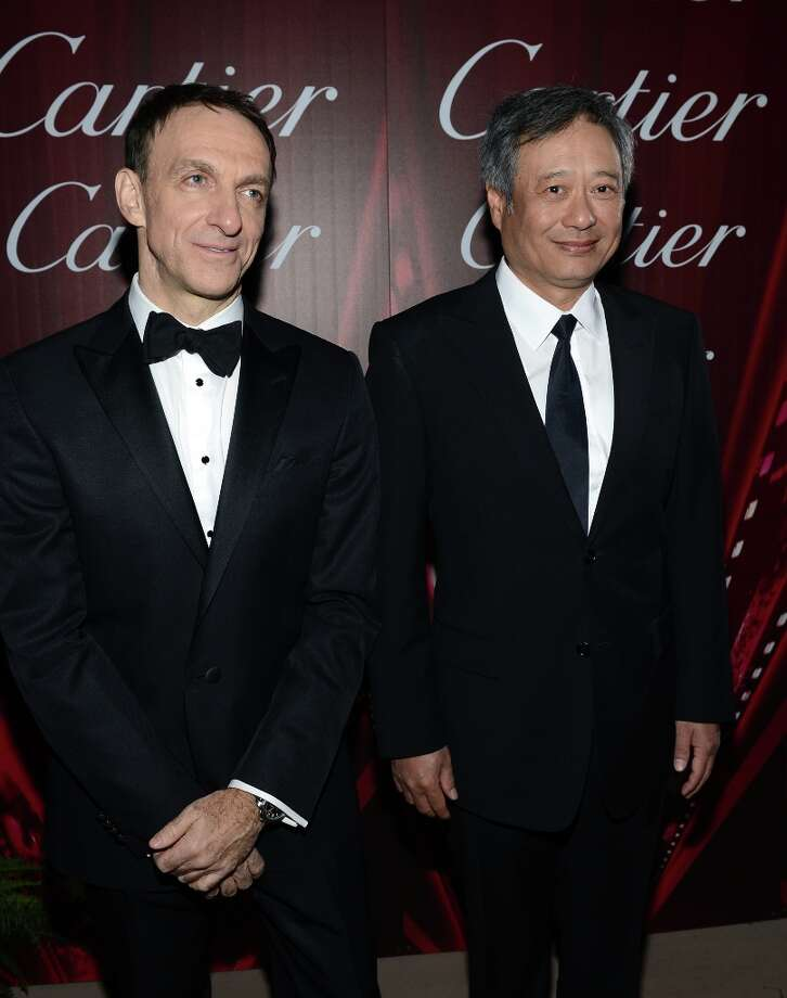 Composer Mychael Danna (L) and director Ang Lee arrive at the 24th annual Palm Springs International Film Festival Awards Gala at the Palm Springs Convention Center on January 5, 2013 in Palm Springs, California. Photo: Michael Buckner / 2013 Getty Images