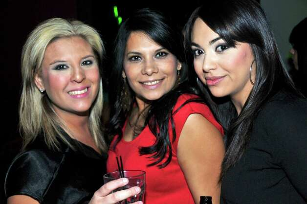 Mica Carrillo, Sara Garza, and April Duque are having a girls night out at the Coco Lounge.