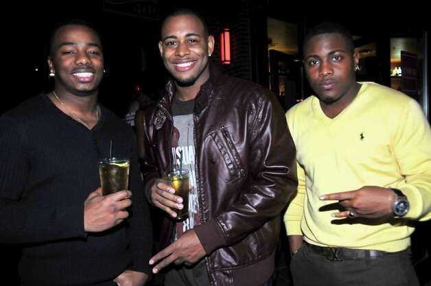 Marquet Shumate, Oscar Barnes, and Josh ray are at the Coco lounge.