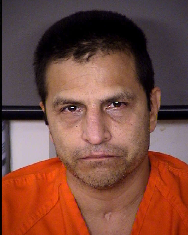 Roland Aguiar, 48, was indicted on one count of murder in connection with the death of his accomplice in an attempted copper theft in 2011. Photo: Bexar County Sheriff's Office