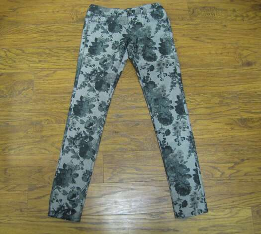 'Serena' grey floral denim, Mavi, Apricot Lane, Parkdale Mall, $98