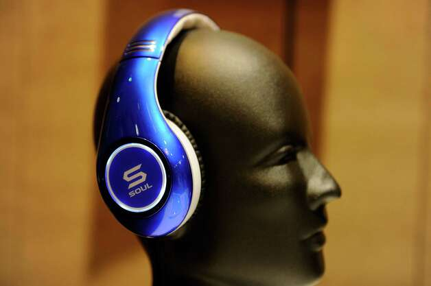 A pair of USD 299 Soul SL300 noise-cancelling headphones are on display at a press event at the Mandalay Bay Convention Center for the 2013 International CES on January 6, 2013 in Las Vegas, Nevada. CES, the world's largest annual consumer technology trade show, runs from January 8-11 and is expected to feature 3,100 exhibitors showing off their latest products and services to about 150,000 attendees. Photo: David Becker, Getty Images / 2013 Getty Images