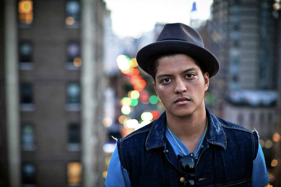 Bruno Mars, a pop singer with a light soul-influenced voice, in New York, Aug. 26, 2010. Mars' ability to easily fit into a range of styles has made him one of the most versatile and accessible singers in pop today.  (Chad Batka/The New York Times) Photo: CHAD BATKA, STR / NYTNS
