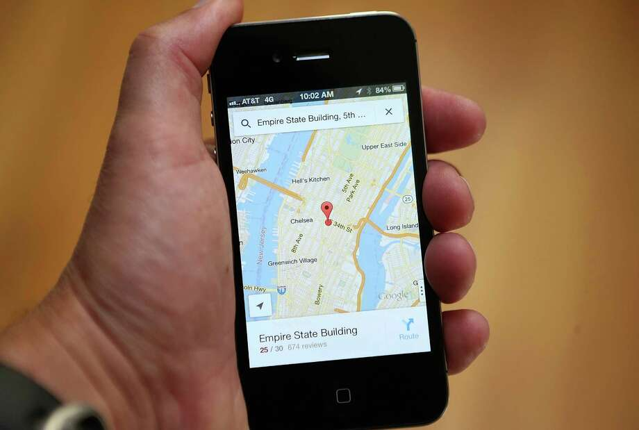 Three months after Apple dropped Google Maps, a Google Maps app has been added to the iTunes store. Photo: Justin Sullivan, Staff / 2012 Getty Images
