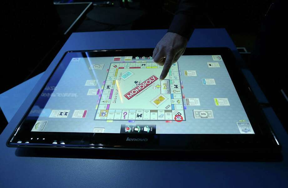 The new Lenovo IdeaCentre Horizon Table PC is a 27-inch tablet big enough to play board games. Photo: Justin Sullivan, Getty Images / 2013 Getty Images