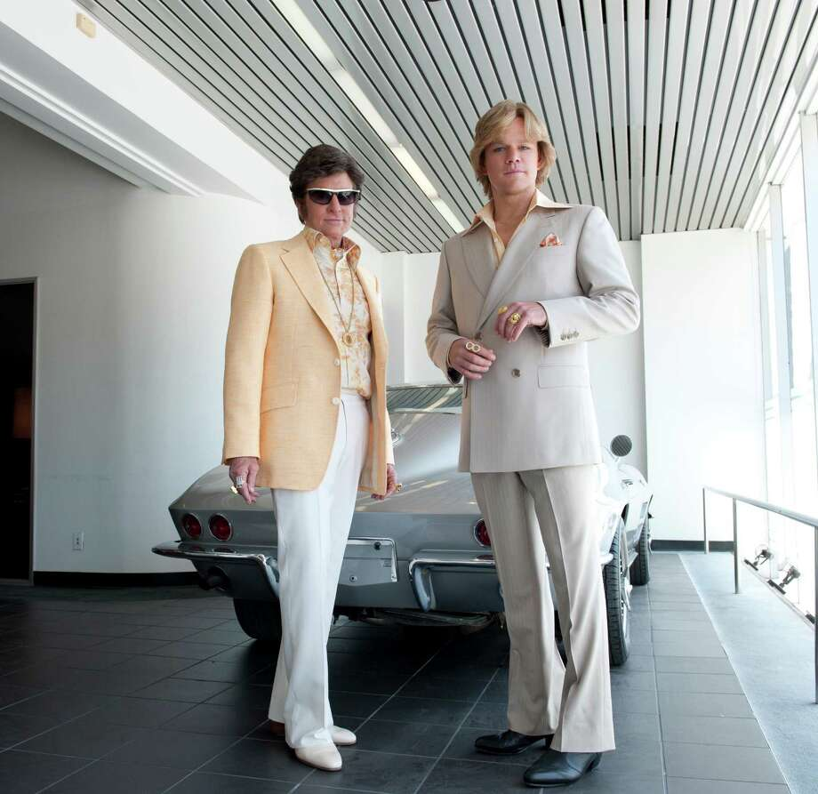 'Behind the Candelabra' stars Michael Douglas and Matt Damon as Liberace and his younger lover. Photo: Claudette Brius/HBO / San Antonio Express-News