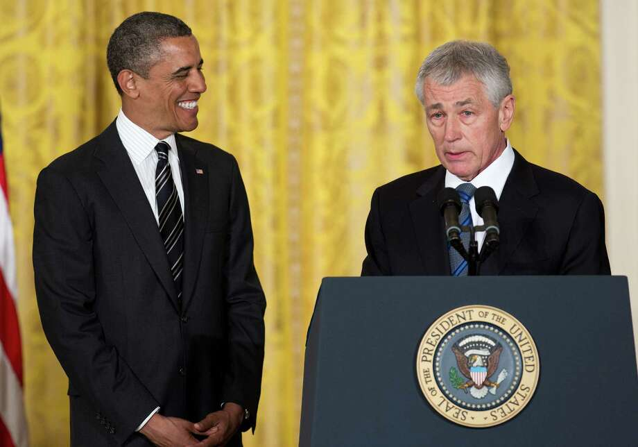 Chuck Hagel, nominated by President Barack Obama as secretary of defense, served as an infantry sergeant in the Vietnam War. While in the Senate he became a critic of the wars in Iraq and Afghanistan. Photo: Joshua Roberts / © 2013 Bloomberg Finance LP