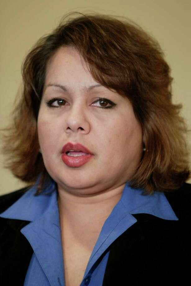 Susan Delgado, a former stripper, is running for Sen. Mario Gallegos' seat. Photo: Kevin Fujii, Staff Photographer / Houston Chronicle