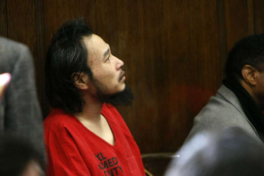 Former nursing student One Goh, who is accused of murdering seven people and wounding three others at Oikos University, appears in Alameda County Superior Court in 2013. Photo: Sean Havey, The Chronicle