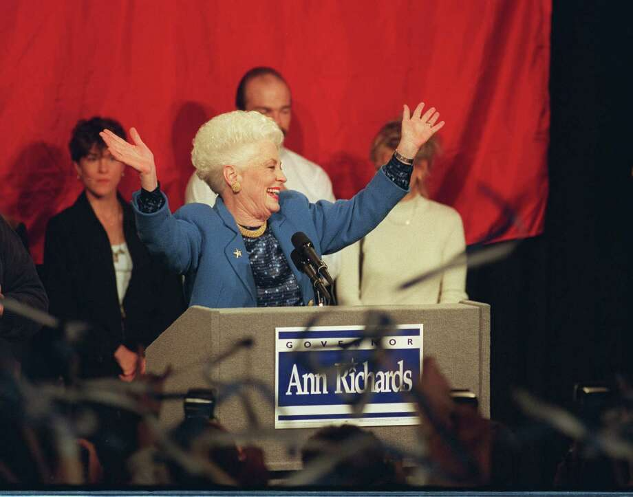 Race:Ann Richards vs. George W. Bush for governorYear: 1994Bush defeated popular incumbent Richards before he expanded his political career to the White House.  Photo: MICHELLE BIDWELL, AP / AP