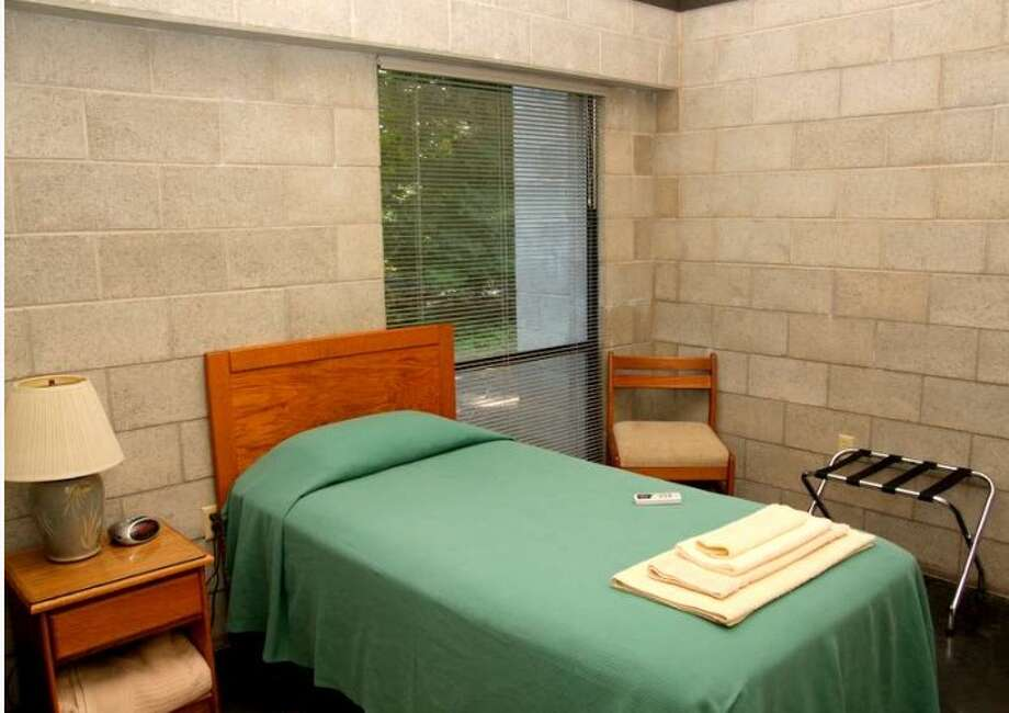 A single guest room at New Clairvaux has no fireplace, no valet service, and no promise of intrigue. Quite the contrary, guests are invited to visit the monastery for quiet contemplation. (http://www.newclairvaux.org)