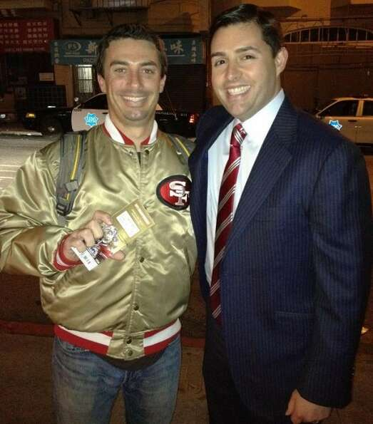 Marz Garcia was profiled in our Tales of the Gold Satin 49ers Jacket series. Jed York noticed his ja
