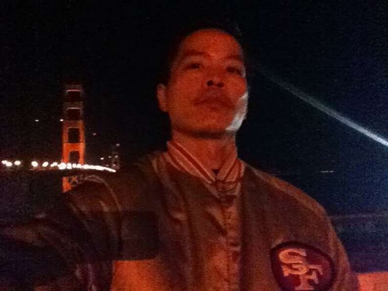 Danny Vu writes: I rock my Niners jacket hard every time I come home. It's like a uniform I need to
