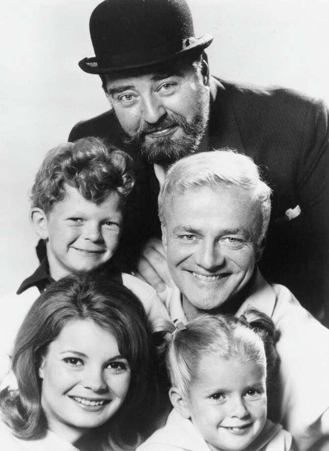 "3. SebastianSebastian Cabot (top) of the 60s TV show ""Family Affair.  Photo: CBS-TV / handout"