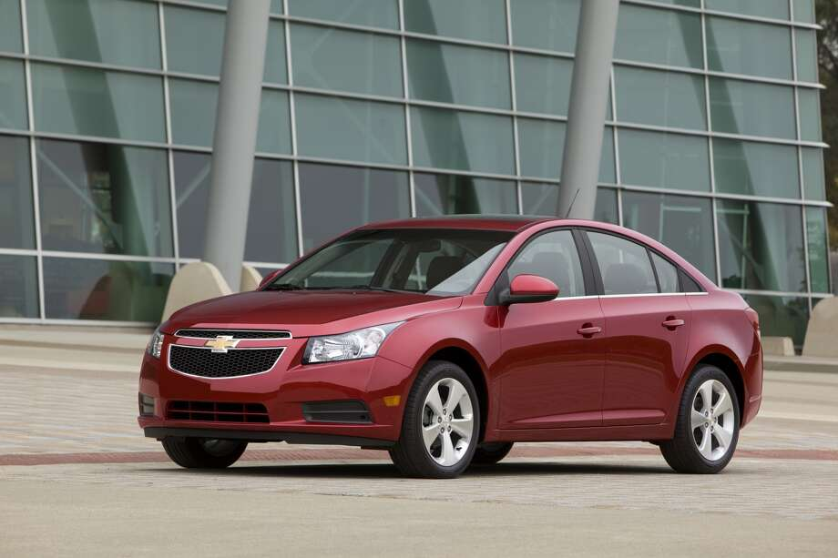 "Chevrolet Cruze: General Motors beefed up its interior to attract more customers to its compact car. What KBB said: ""For compact comfort, the Chevy Cruze is a big winner.""