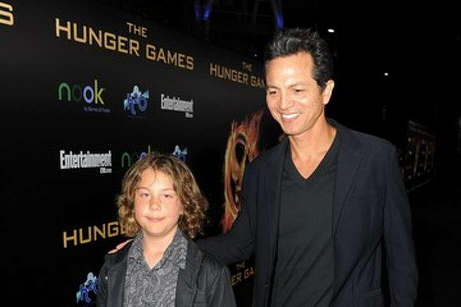 4. MateoBenjamin Bratt with his son, Mateo