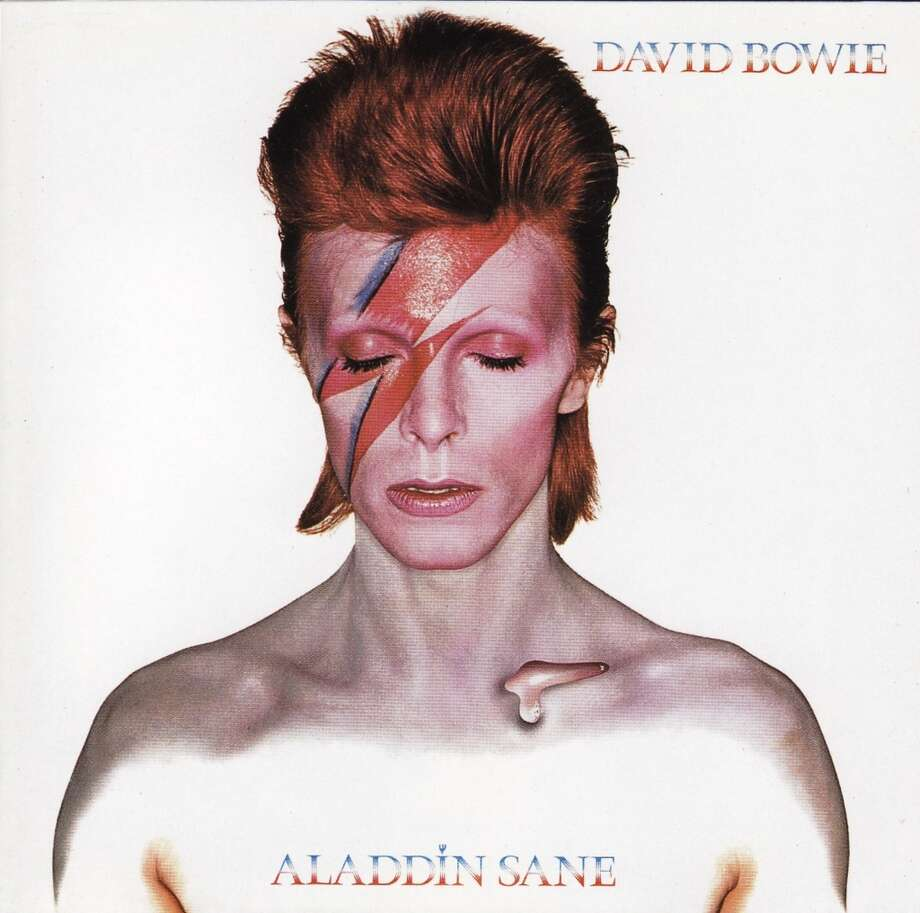1973: Aladdin Sane Photo: Contributed Photo