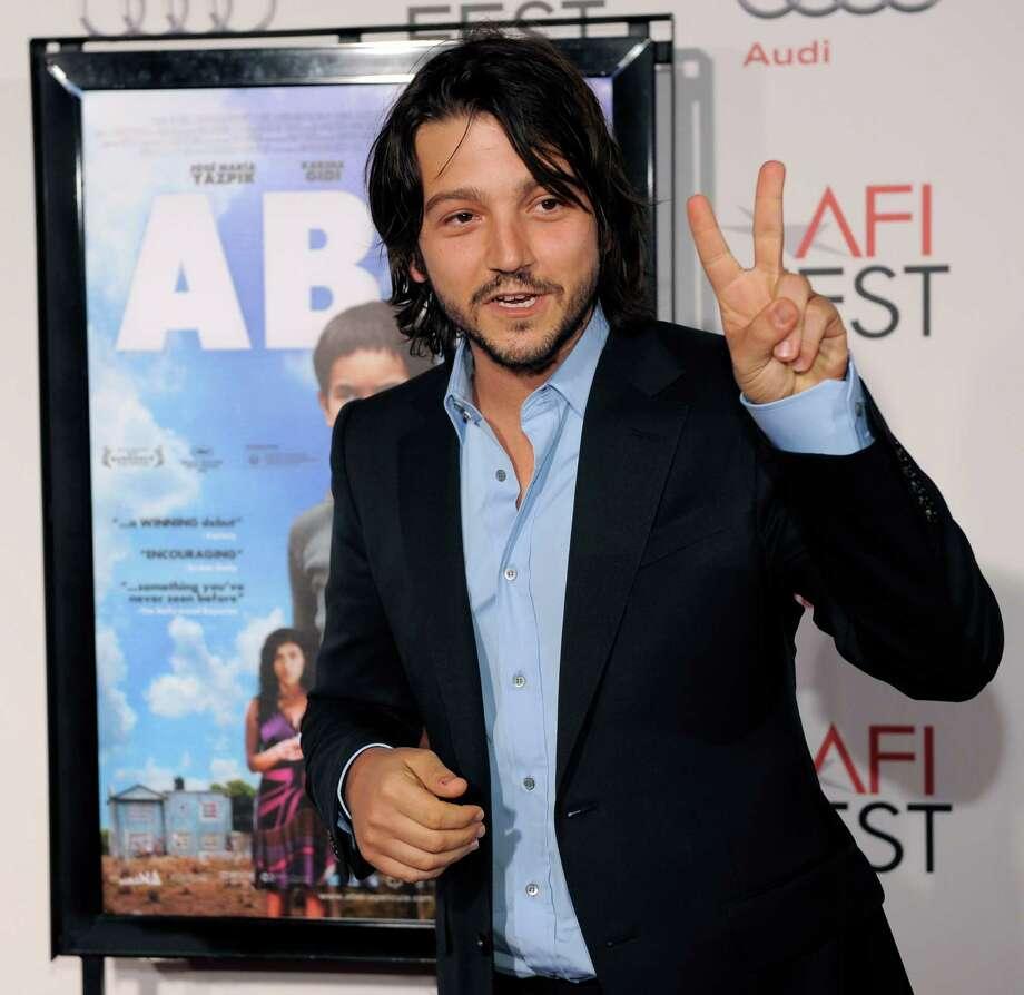 8. DiegoMexican actor-director Diego Luna Photo: Chris Pizzello, AP / AP