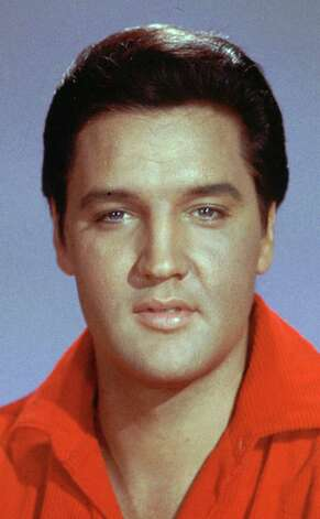 ** FILE ** Elvis Presley is shown  in an undated file photo. Organizers of a campaign to get a  Presley specialty license plate  will launch a media blitz to attract the 1,000 purchasers they need for Tennessee  to begin production.  (AP Photo) / AP2007