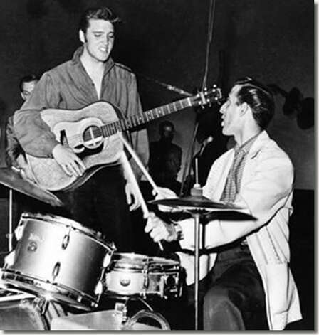 DJ Fontana served as Elvis Presley's drummer for 14 years. Now at 81, Fontana tours around with Elvis impersonators. His latest show will be in Liberty on Saturday, May 26 at 2 p.m. Photo: Courtesy Of Steve Fountain