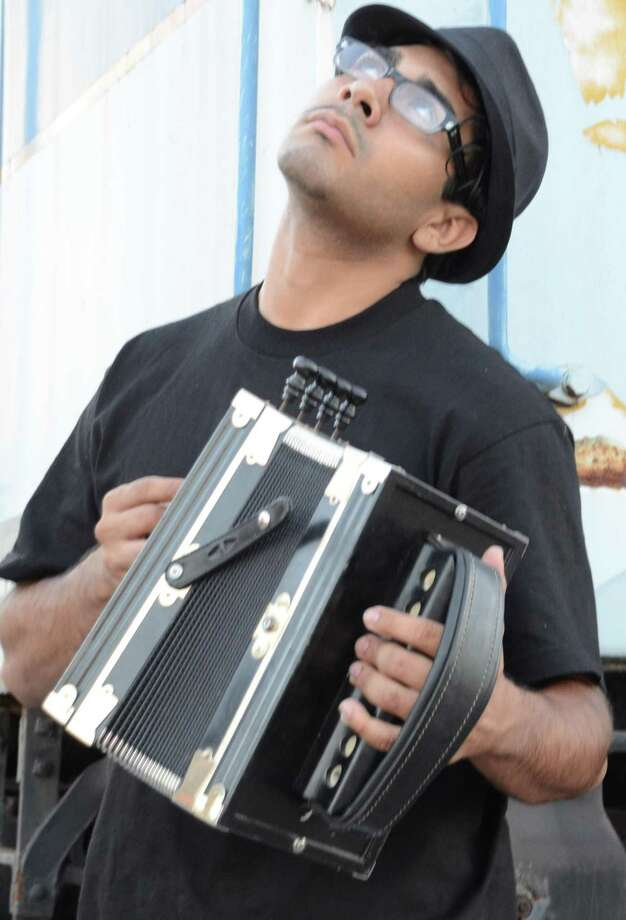 Ruben Moreno, leader of the band Zydeco Re-Evolution, will be at Luna on Saturday. Courtesy photo Photo: Courtesy Photo