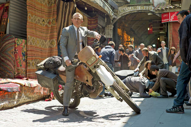 "Daniel Craig stars as James Bond in Metro-Goldwyn-Mayer Pictures/Columbia Pictures/EON Productions' action adventure ""Skyfall."" Photo: Francois Duhamel / Contributed P, Contributed Photo / Skyfall ©2012 Danjaq, LLC, United Artists Corporation, Columbia Pictures Industries, Inc."