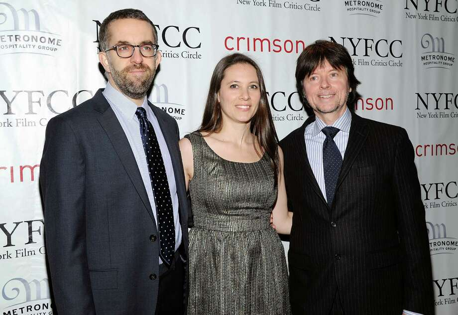 """The Central Park Five"" co-directors David McMahon, Sarah Burns and Ken Burns arrive at the New York Film Critics Circle awards dinner at the Crimson Club on Monday Jan. 7, 2013 in New York. Photo: Evan Agostini, Evan Agostini/Invision/AP / Invision"