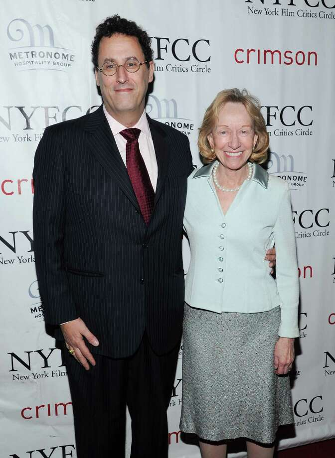 Best Screenplay winner Tony Kushner and author Doris Kearns Goodwin arrive at the New York Film Critics Circle awards dinner at the Crimson Club on Monday Jan. 7, 2013 in New York. Photo: Evan Agostini, Evan Agostini/Invision/AP / Invision