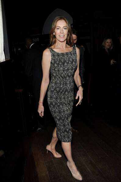 Best Director winner, Kathryn Bigelow arrives at the New York Film Critics Circle awards dinner at t