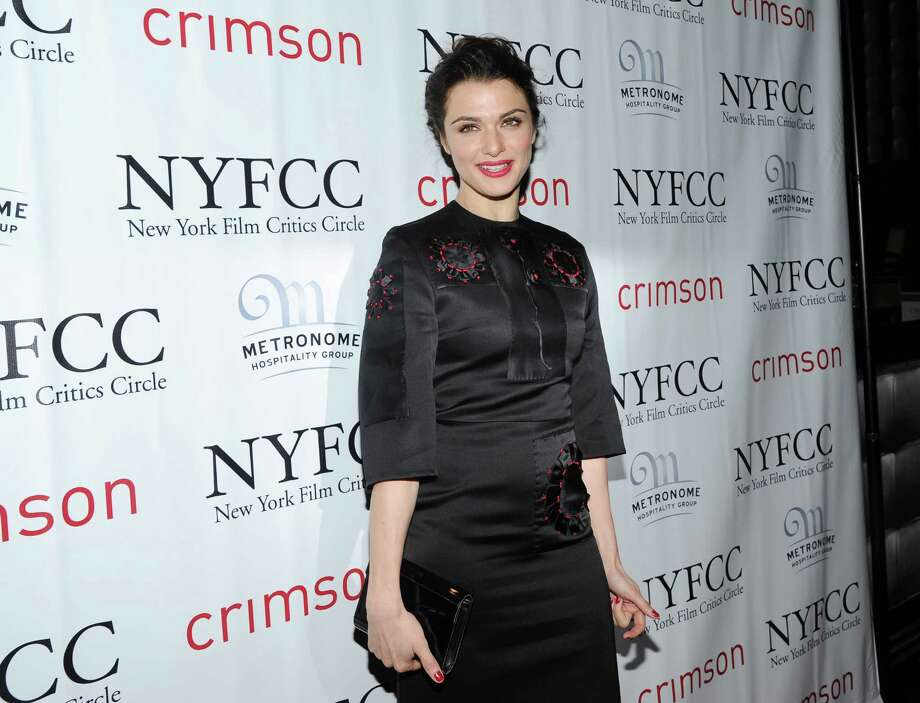 Best Actress winner Rachel Weisz arrives at the New York Film Critics Circle awards dinner at the Crimson Club on Monday Jan. 7, 2013 in New York. Photo: Evan Agostini, Evan Agostini/Invision/AP / Invision