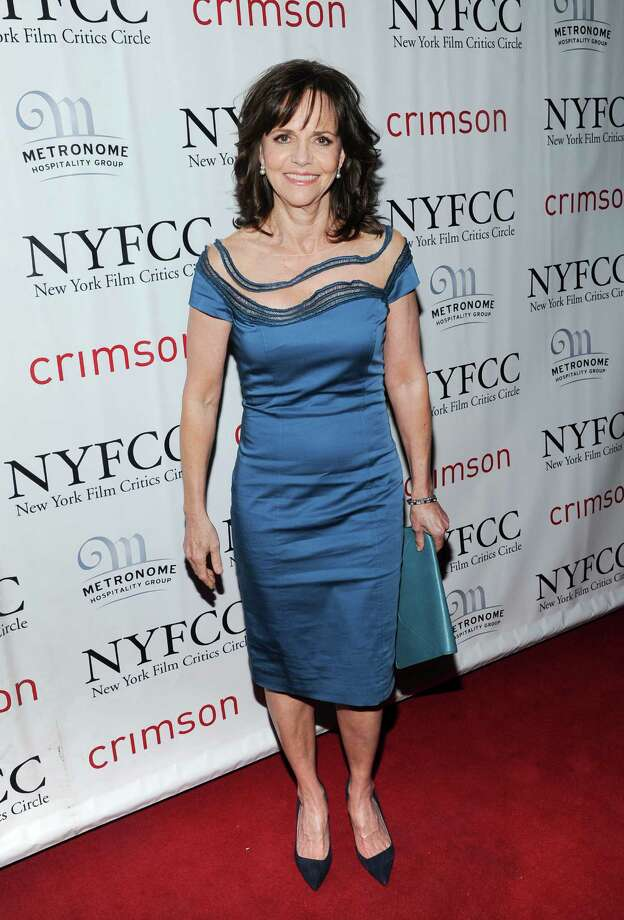 Best Supporting Actress Sally Fields arrives at the New York Film Critics Circle awards dinner at the Crimson Club on Monday Jan. 7, 2013 in New York. Photo: Evan Agostini, Evan Agostini/Invision/AP / Invision