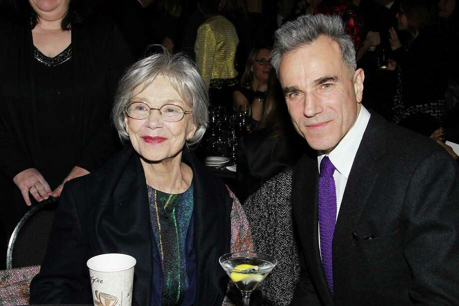 "This Jan. 7, 2013 photo released by Starpix shows French actress Emmanuelle Riva from ""Amour"", left, with actor Daniel Day Lewis from ""Lincoln,"" at the New York Film Critics Circle awards dinner at the Crimson Club in New York. Photo: Dave Allocca, AP / StarPix"