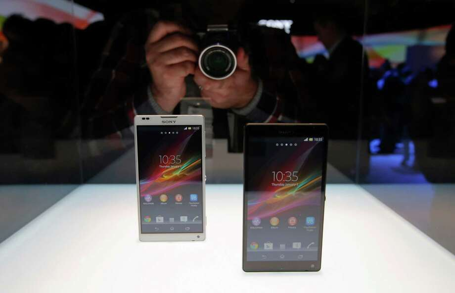 Sony's new Xperia Z smartphones are unveiled at the International Consumer Electronics Show in Las Vegas, Monday, Jan. 7, 2013. The 2013 International CES gadget show, the biggest trade show in the Americas, is taking place in Las Vegas this week. Photo: Jae C. Hong, AP / AP