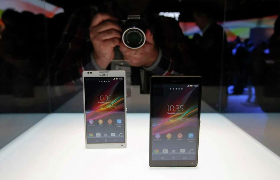Sony's new Xperia Z smartphones are unveiled at the International Consumer Electronics Show in Las V