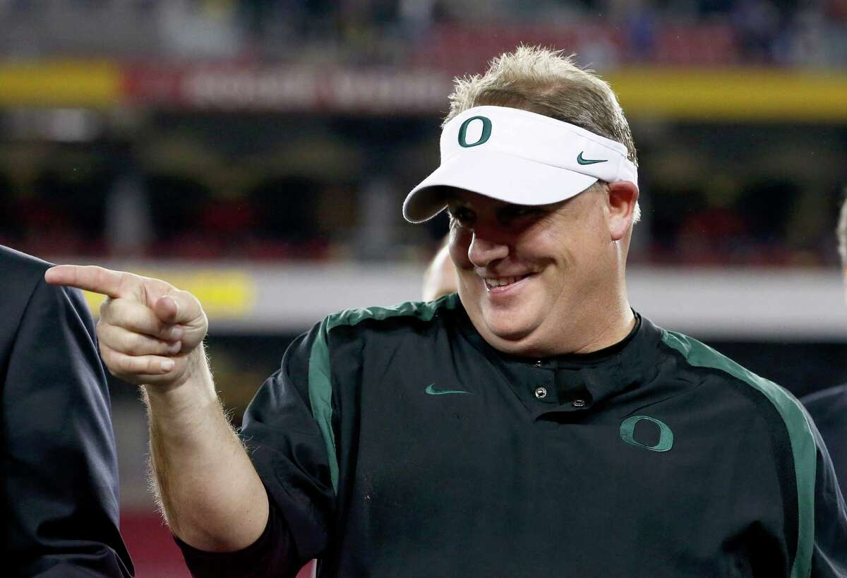 You have to believe Chip Kelly and Oregon would've been better competition for Alabama.  Playing in the tough Pac-12, the Ducks' 12 wins all came by double digits, including their Fiesta Bowl romp over Big 12 champ K-State.  Their only loss was to eventual Rose Bowl champion Stanford, in OT on a field goal that hit the right upright.