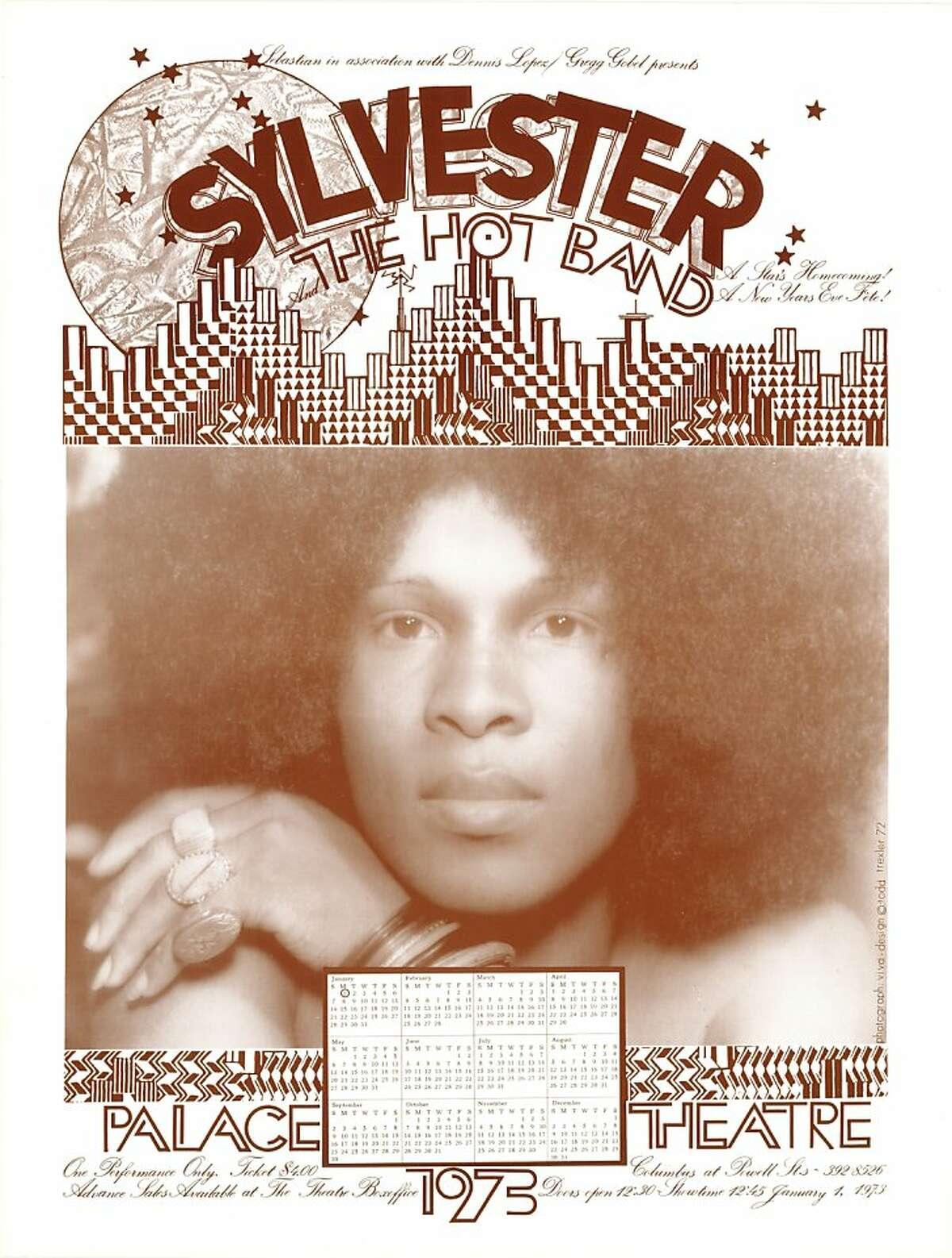 Sebastian, Dennis Lopez & Greg Gobel, Sylvester & The Hot Band Palace Theater December 31, 1972