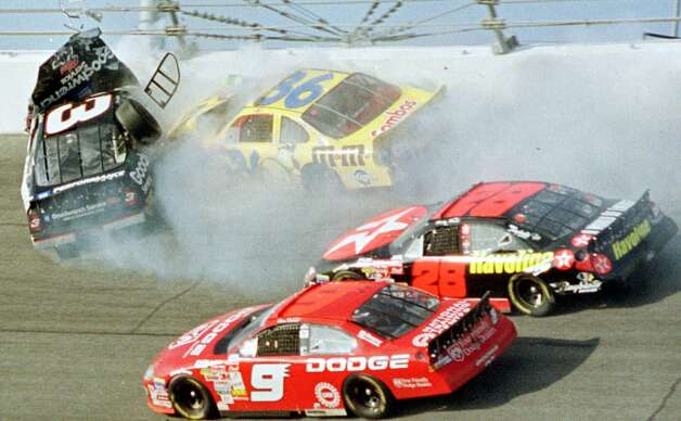 (2001) Dale Earnhardt died after the car he was racing crashed during the Daytona 500.