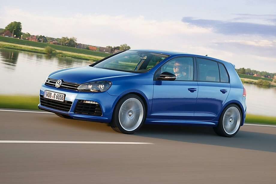 Volkswagen Golf R: The Golf is packed with technology  that'll help you get better traction and brake faster in poor weather  conditions. Key features: The car is  equipped with all-wheel drive, electronic stability control and a more advanced  anti-braking system. Photo: VOLKSWAGEN