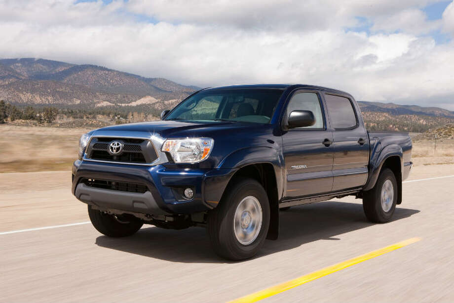 Toyota Tacoma: Most trucks fare well in messy conditions. Key features: The truck comes standard with vehicle stability control and traction  control. Photo: Toyota Motor Co.