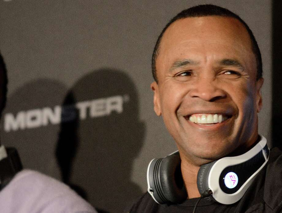 Former boxer Sugar Ray Leonard  participates during the event of the new line of Monster headphones at the 2013 International Consumer Electronics Show in Las Vegas, Nevada, on January 07 ,2013. The annual CES which takes place from 8-11 January is a place where industry manufacturers, advertisers and tech-minded consumers converge to get a taste of new gadgets and innovations coming to the market each year.AFP PHOTO/JOE KLAMARJOE KLAMAR/AFP/Getty Images Photo: JOE KLAMAR, AFP/Getty Images / Agence-France-Presse