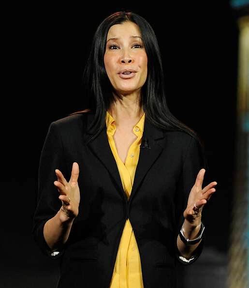 Journalist and host Lisa Ling speaks during a keynote address at the 2013 International CES at The V