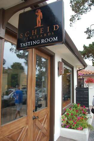 Scheid Vineyards, which has a tasting room at its winery near Highway 101 in Greenfield, has also opened one in the tourist magnet of downtown Carmel. Photo: Jeanne Cooper, SFGate