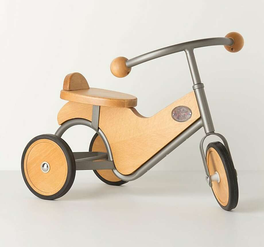 More or less: $248 Hickory-Tock Tricycle at Anthropologie (Anthropologie.com) Photo: Anthropologie