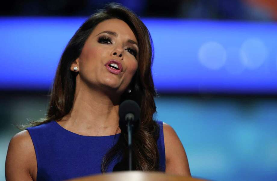 CHARLOTTE, NC - SEPTEMBER 06:  Actress Eva Longoria speaks on stage during the final day of the Democratic National Convention at Time Warner Cable Arena on September 6, 2012 in Charlotte, North Carolina. The DNC, which concludes today, nominated U.S. President Barack Obama as the Democratic presidential candidate. Photo: Chip Somodevilla, Getty Images / 2012 Getty Images