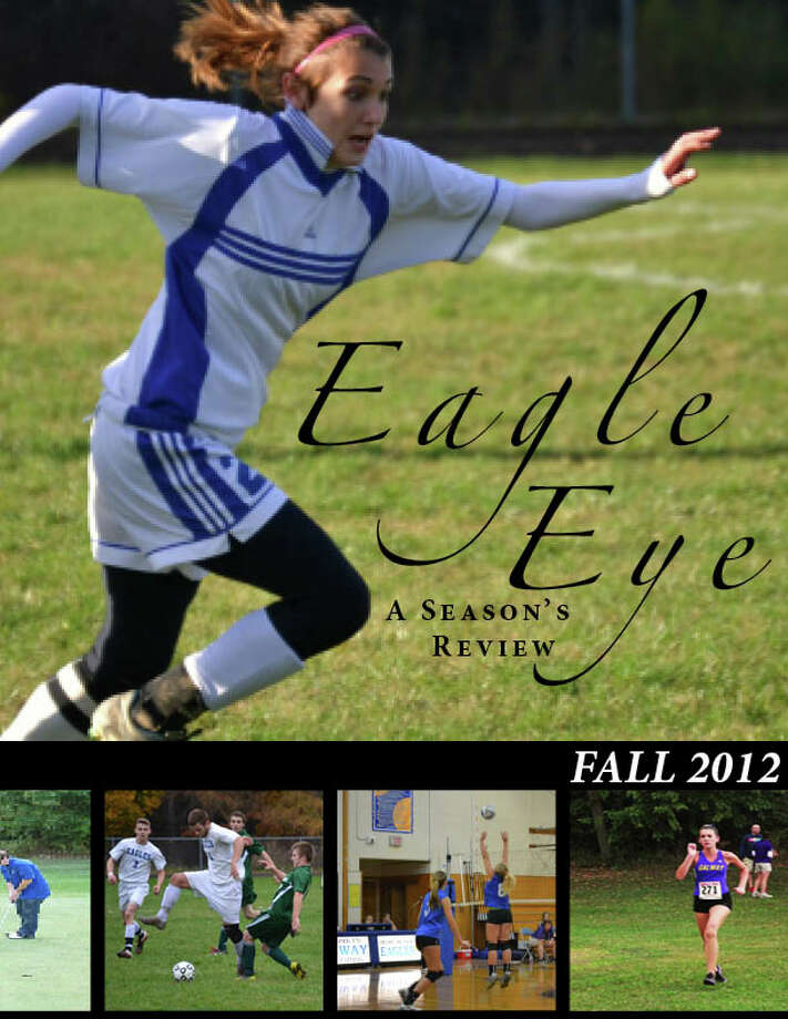 The front cover of the sports magazine. (Courtesy of Galway Central School District)