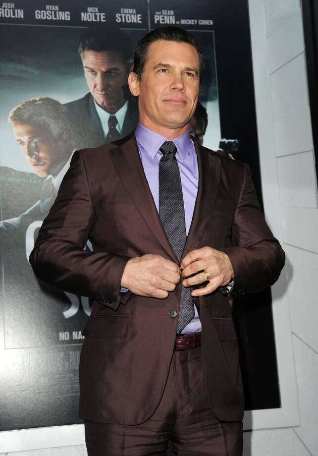 Actor Josh Brolin arrives at Warner Bros. Pictures' Gangster Squad premiere at Grauman's Chinese Theatre on January 7, 2013 in Hollywood, California. Photo: Kevin Winter, Getty Images / 2013 Getty Images