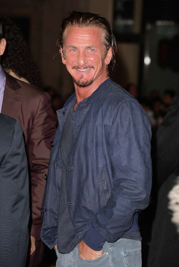 Actor Sean Penn arrives at Warner Bros. Pictures' 'Gangster Squad' premiere at Grauman's Chinese Theatre on January 7, 2013 in Hollywood, California. Photo: Jason Merritt, Getty Images / 2013 Getty Images