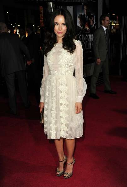 Actress Abigail Spencer arrives at Warner Bros. Pictures' Gangster Squad premiere at Grauman's Chine